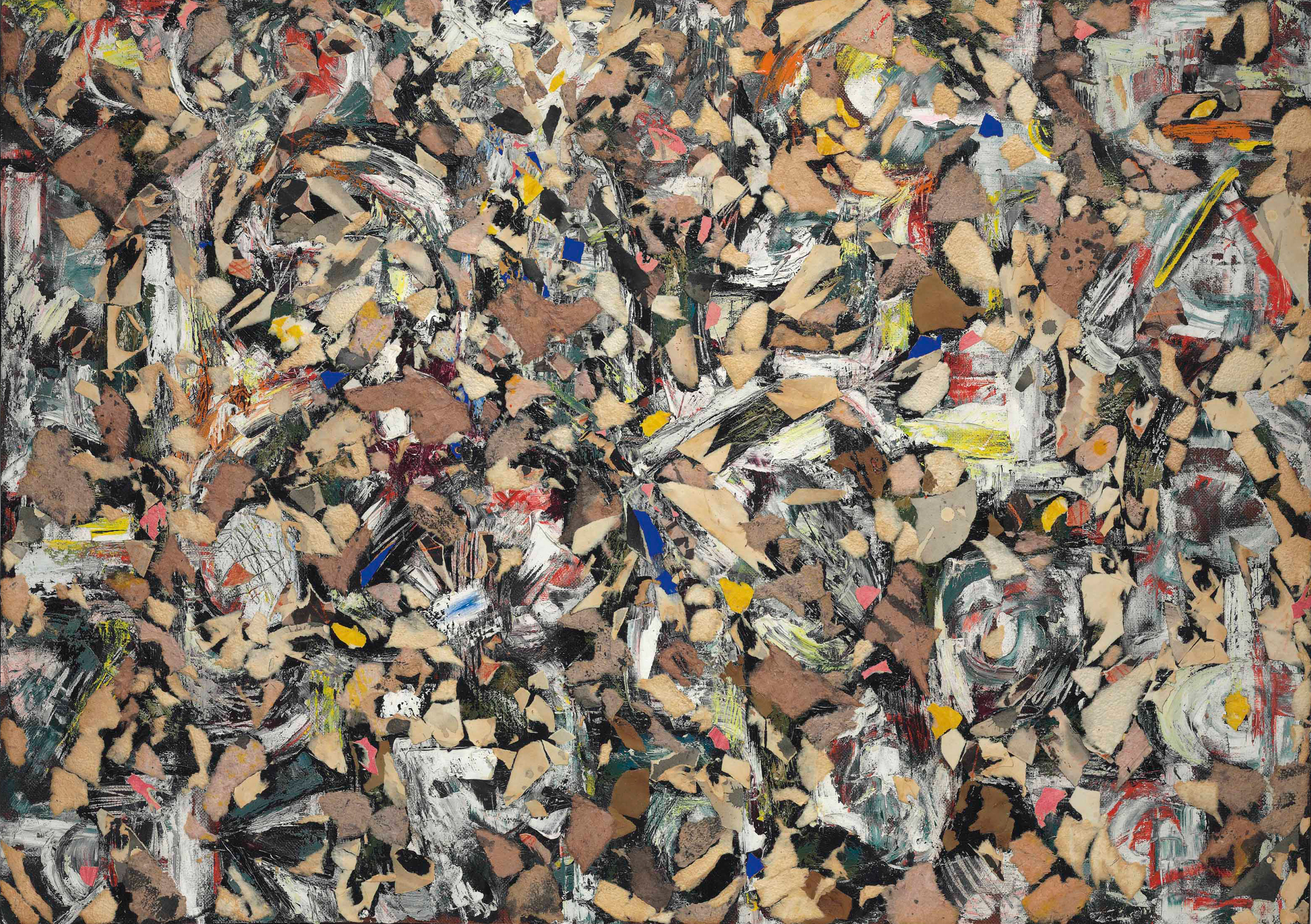 Lee Krasner. Color vivo